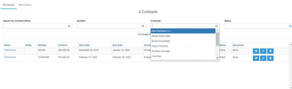 crm contract management
